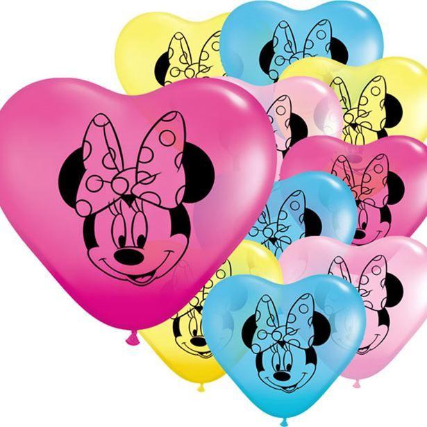 Rigtig charmerende Minnie Mouse balloner til fødselsdag med Minnie Mouse tema fra Sjovogkreativ.dk hvor du kan finde alt i festartikler til Minnie Mouse børnefødselsdagen.