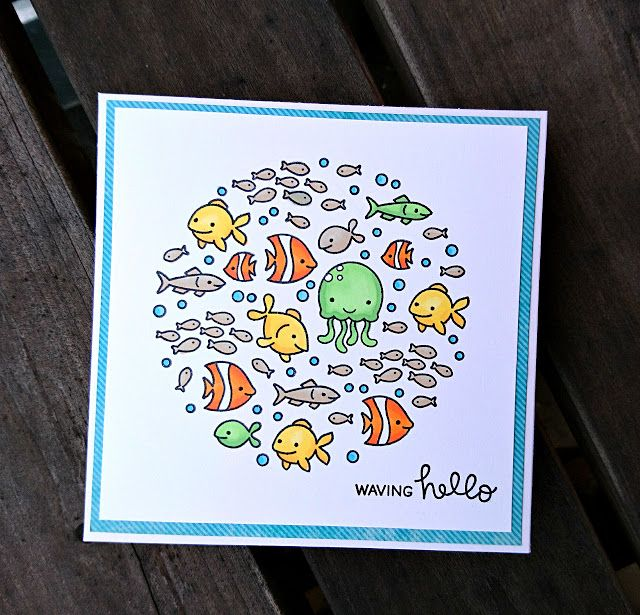 It's time for another Fawny Flickr Friday!! We just love to see all of your fabulous creativity on display in our Flickr Group! We are always so inspired, we can't wait to share your wonderful cards a