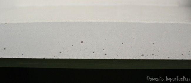 bubbles in a concrete countertop concrete countertop in 2018