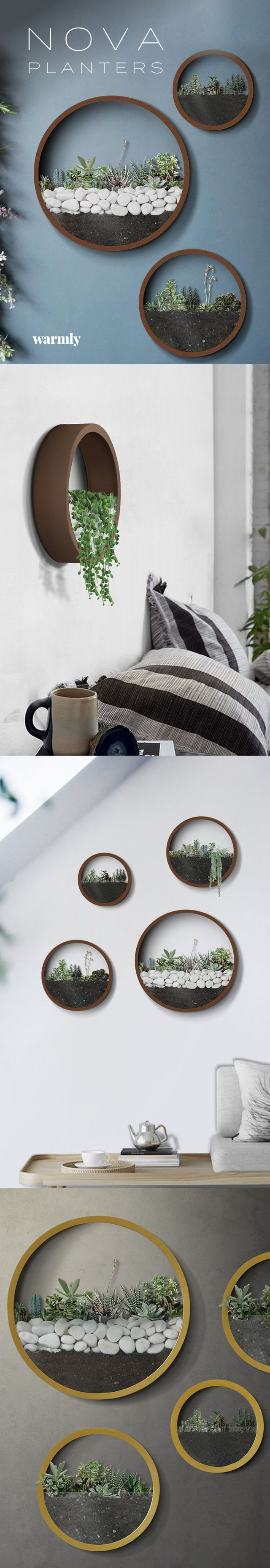 Nova – moderne nordische Wandvasen