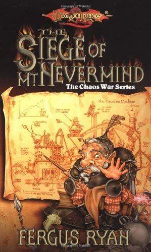 Book Cover Of The Siege Of Mt Nevermind Novels Dragonlance