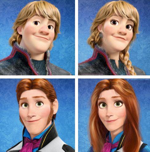 2124 Ha a Disney szereplők az ellenkező nemhez tartoznának
