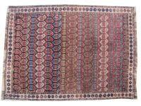 антикварная персидский ковер kurde 94X