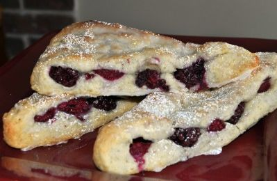 Blackberry Scones Recipe #downtonabbey