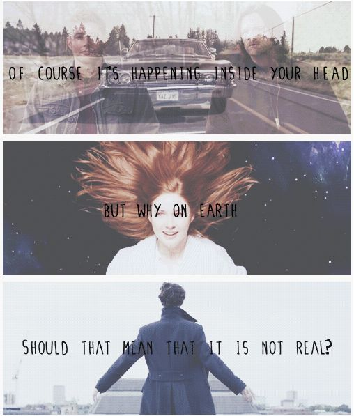 SuperWhoLock.......................I LOVE THE FACT THAT THE QUOTE IS HARRY POTTER