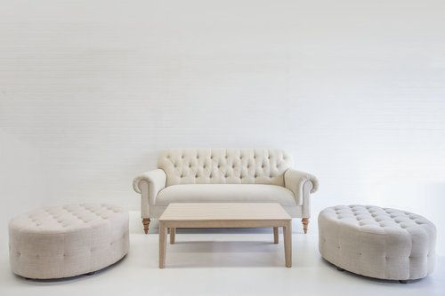 French Linen Ottoman Package