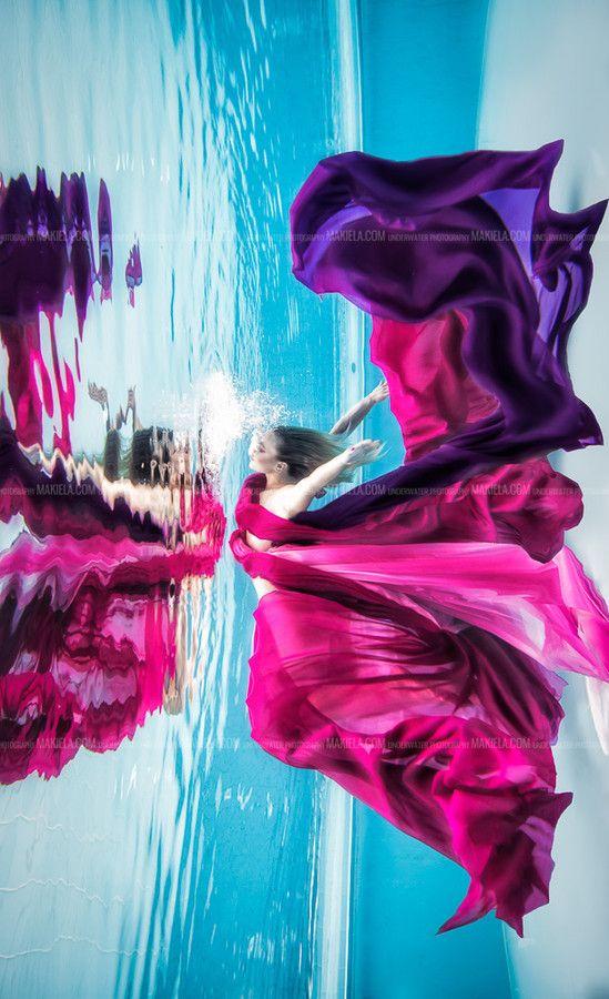 Underwater butterfly ... by Rafal Makiela on 500px