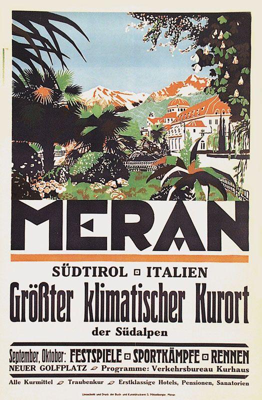 Meran - Größter klimatischer Kurort der Südalpen