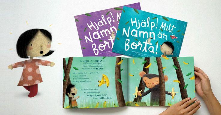 Lysande berättelser, härliga illustrationer - och vänta bara tills du kommer till slutet av boken och hittar det saknade namnet. Magiskt!