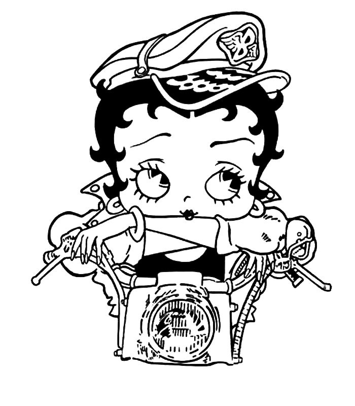 Animaatjes Betty Boop 66688 700x800 BoopAdult ColoringColoring Pages