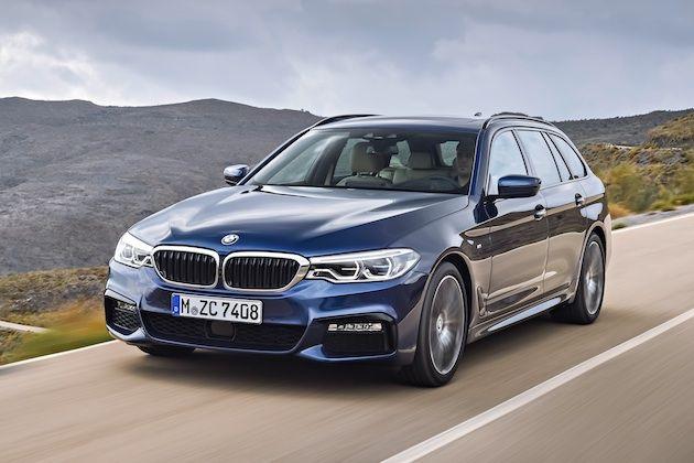 【ビデオ】BMW、新型「5シリーズ ツーリング」の画像と動画を公開