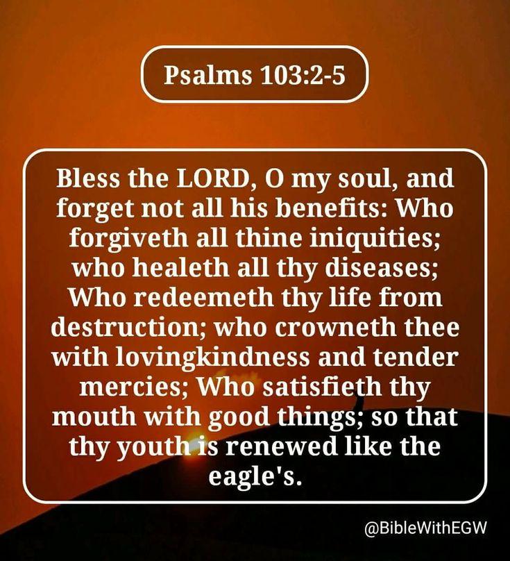 Psalm 103:2-5