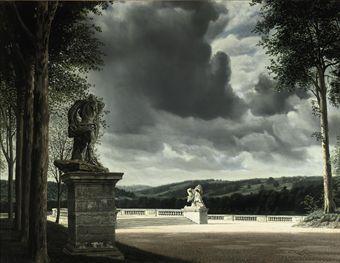 """""""Parc des Sceaux"""", 1952 / Carel Willink (1900-1983) / Private Collection"""