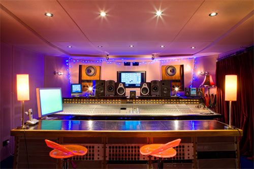 SSL G Series console. Control Room at Assault & Battery 1,  London. Owned by Producers Alan Moulder and Flood.