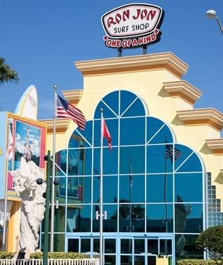Ron Jon Surf Shop, Cocoa Beach, FL - America's Best 24-Hour Hot Spots