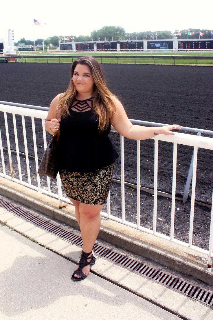 horse races, horse race outfits, forever 21 plus size, fashion blogger, plus size fashion, natalie craig,