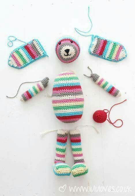 65 best panpiñak images on Pinterest | Crochet toys, Amigurumi ...