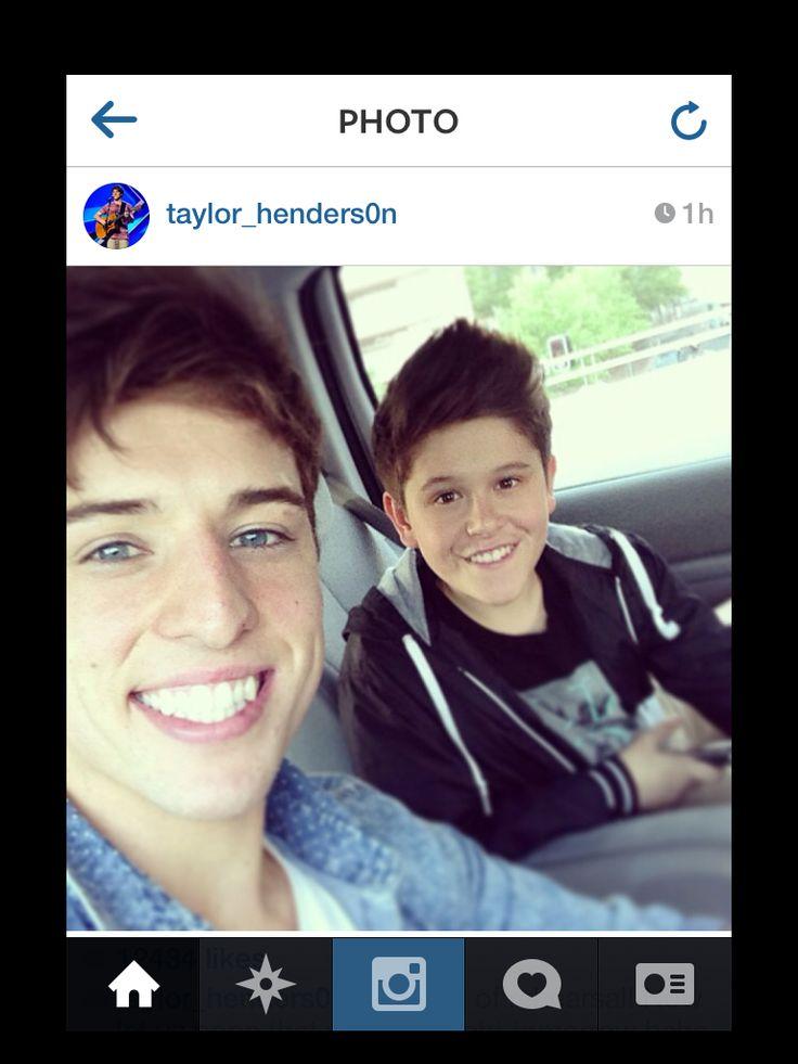 Taylor Henderson and Jai Waetford - Instagram