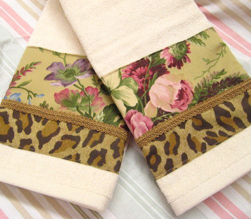 Adriana Aragon Custom Decorated Hand Towels   Ralph by Sew1Pretty