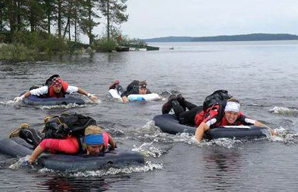  Did you think you have experienced everything? Superfun adventure for families or friends together at Koli. You will be taken by a boat to Hiekkasaari esker island, where the activity starts. You will then walk the islands from end to end and splash from one island to the next one. You will get wet, some more than the others but are able to wear sports clothes and shoes throughout the tour. Breathtaking views as a bonus. Splashing activity separately 60€/person (min- group of 5). As our…
