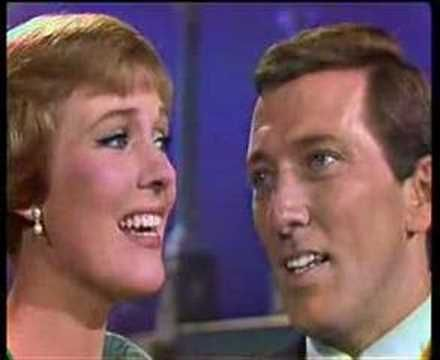 "Julie Andrews and Andy Williams sing ""Our Language of Love"" (fr: Irma la douce)"