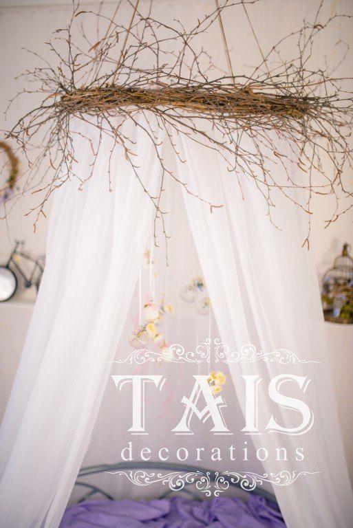 """Оформление фотостудии """"Smille."""" Зона Будуар. Декор """"TAIS decorations"""""""