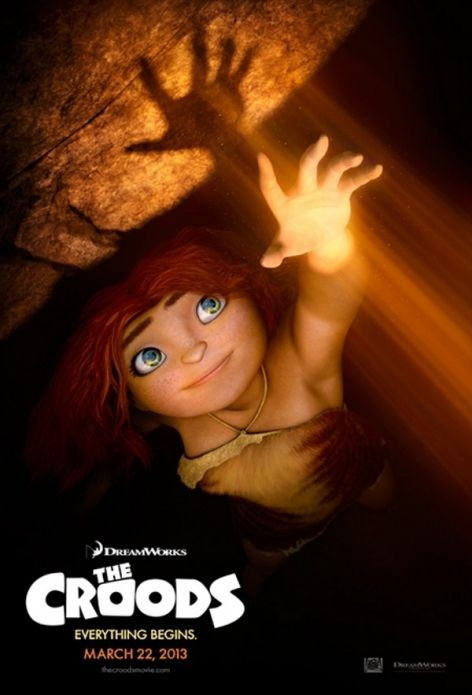 The Croods, new Poster Just watched this movie is a great family movie and really funny :)