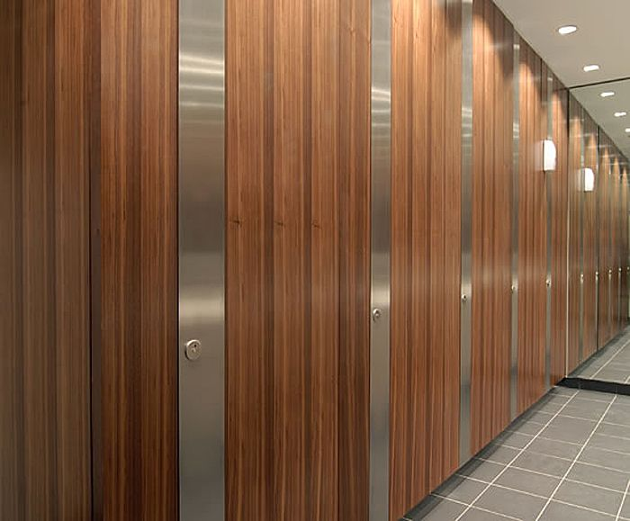 Grant Westfield: Façade Flush Executive Washroom Cubicle System 6 of 8