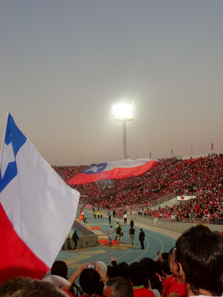 Chile vs. Paraguay soccer game