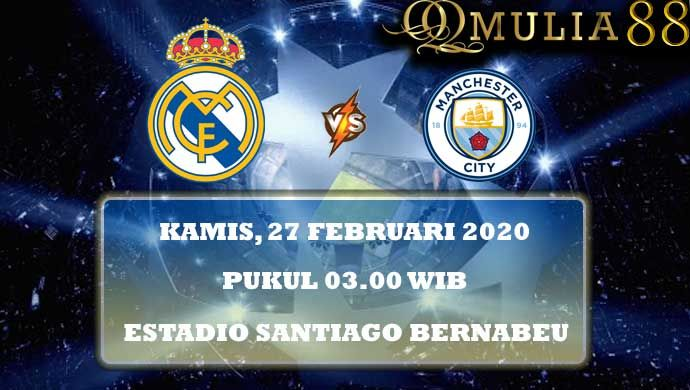 Real Madrid Vs Manchester City Liga Champions 27 Februari 2020 Di 2020 Real Madrid Madrid Leicester