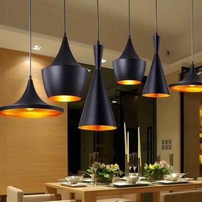 STOEX® 3PCS E27 Métal Vintage Suspensions Luminaire Lampes