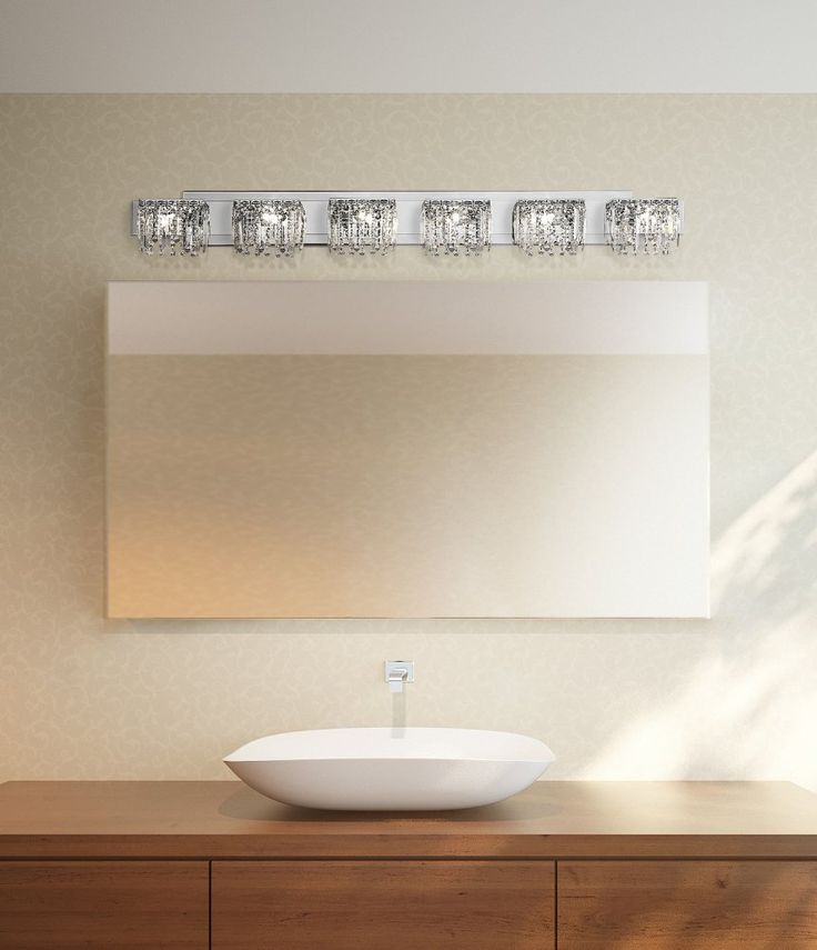 How High To Hang Vanity Lights : Possini Euro Design Hanging Crystal 50 3/4
