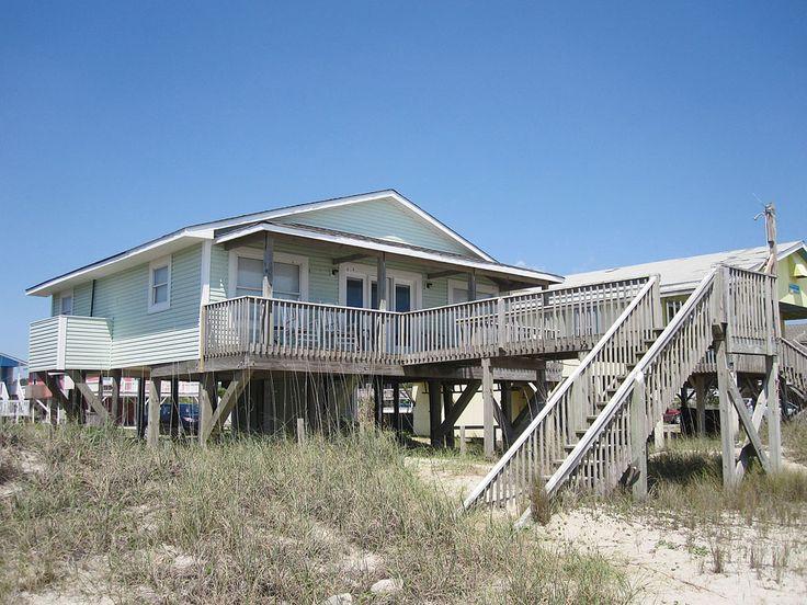 Absolute Beach is a 4 bedroom, 2 bathroom Oceanfront vacation rental in Oak Island, NC.