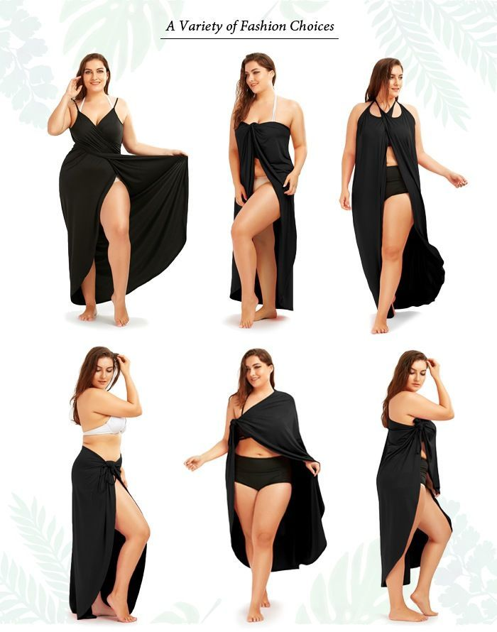 15d1c49b09a Chellysun plus size beach cover up DIY bathing suits casual outfits chiffon  beautiful pattern plus size cove up dress curves fringes  fashion  style ...