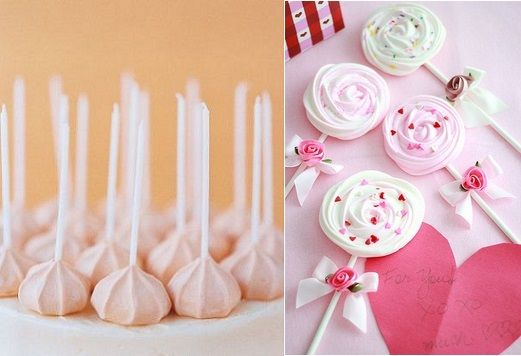 meringue lollipop - Google Search