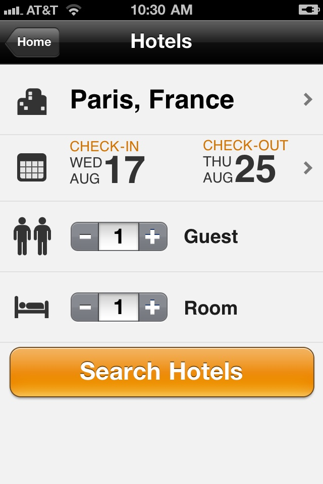 The most popular iPhone travel app.*