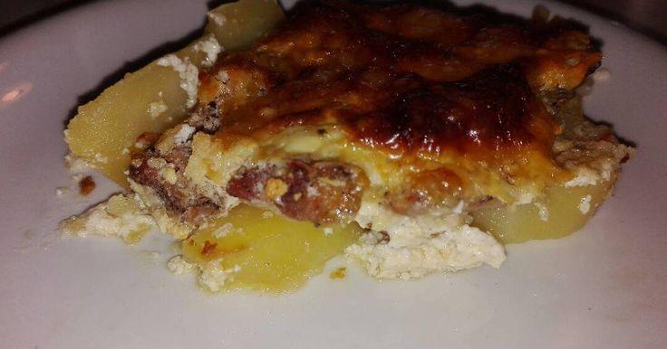 Mennyei Tejfölös Krumplis Karaj recept! Keresztanyum sokszor csinált ilyet és gondoltam picit felturbozom.