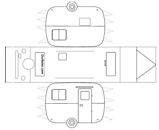 The 25+ best Boler trailer ideas on Pinterest Trillium trailer - printable car template