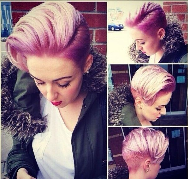 How I want my hair to eventually grow out ... Also definitely going to try this colour!!!