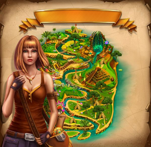 Game art for Slot game by Olga Yatsenko, via Behance ...