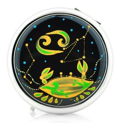 Double Sided Makeup Pocket Mirror (Cancer)