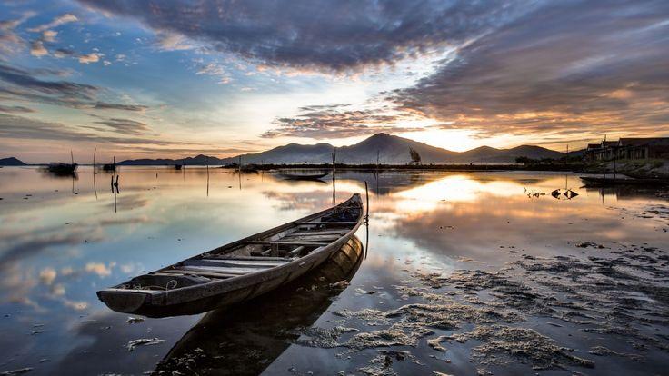Yellow Tam Giang Lagoon