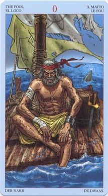 Fool from the Pirates Tarot