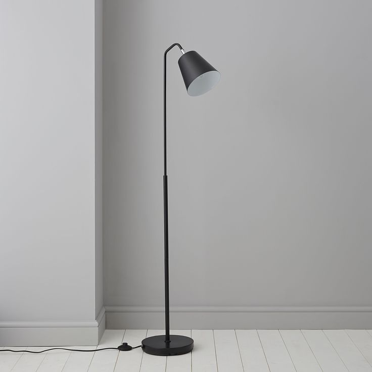 Bernier black floor lamp