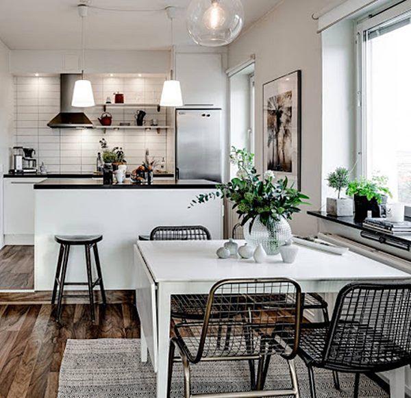 1000 ideias sobre cozinha quadrada no pinterest mesas de cozinha quadradas mesas de jantar - Mesas pequenas ...