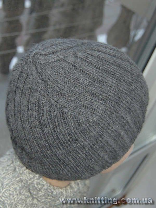 Вязание спицами шапок для мальчиков с описанием