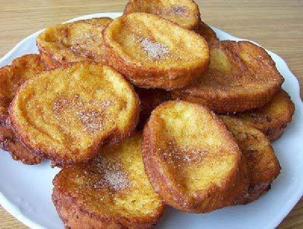 Torrijas | 28 Comidas de fritanga española para todos los gustos