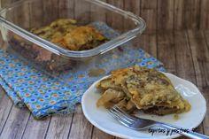 Pastel de patata y berenjena