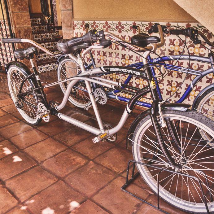 Bicicletas en Villa Vicuña Cafayate