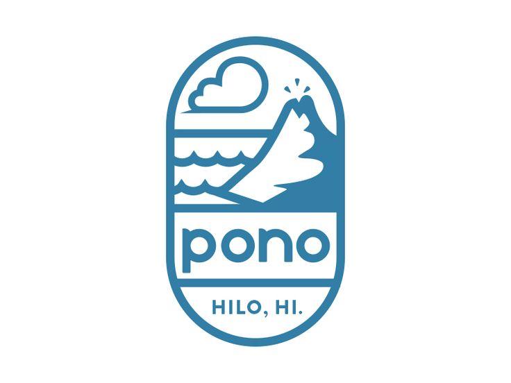 Pono logo design